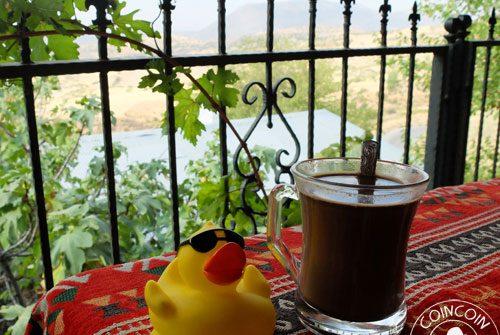 Coincoin et le café kurde