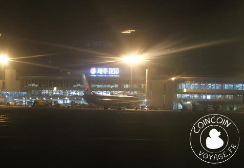 aéroport inernational de jéju corée du sud