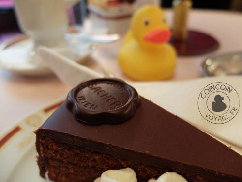 Cafe Sacher - Vienne
