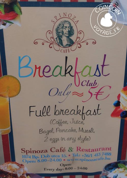 5-euro-petit-déjeuner spinoza-budapest