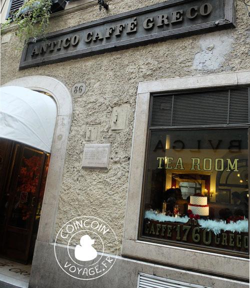 Antico Caffè Greco Rome
