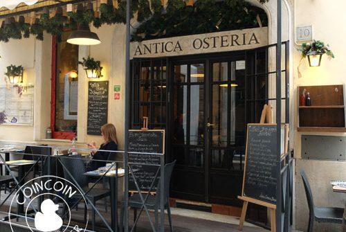 antica osteria restaurant romeantica osteria restaurant rome