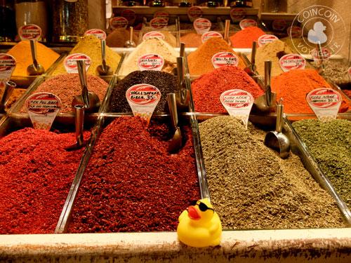Coincoin au grand Bazaar d'Istanbul