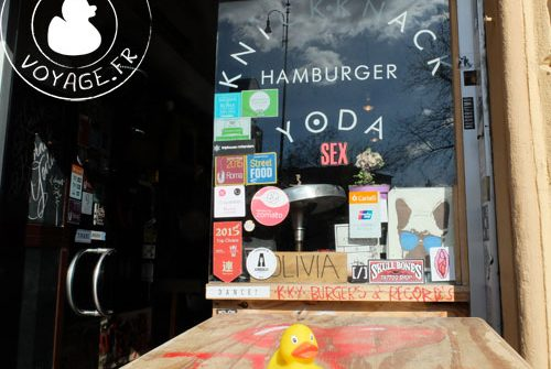 rome restaurant knick knack yoda
