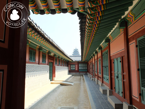 Palais-royal-Gyeongbok-séoul