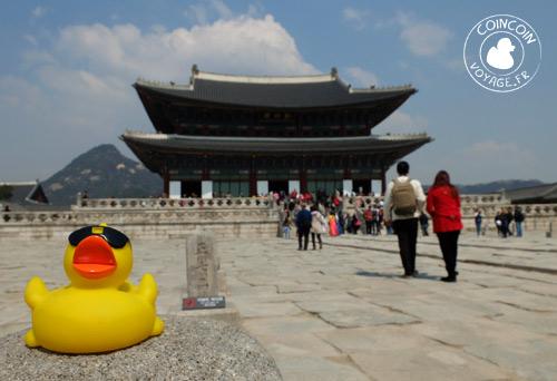 Palais-Gyeongbokgung-visite-corée