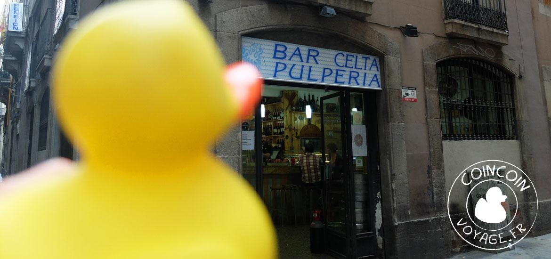 bar restaurant celta poulpe