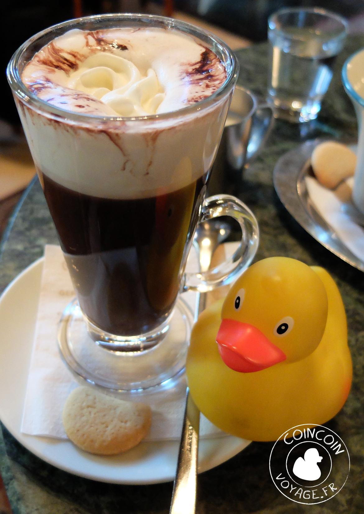 café gerbeaud chocolat chaud budapest