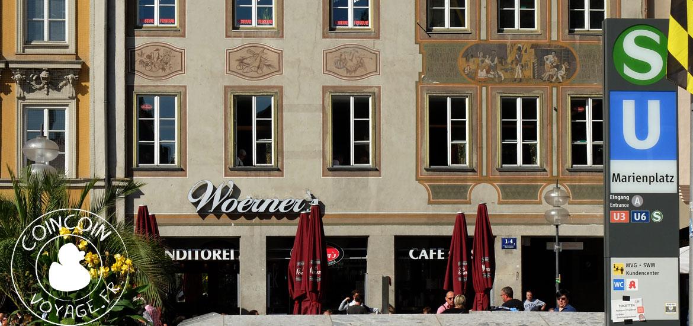 café woerners marienplatz munich