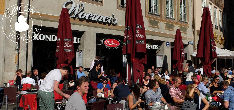 café woerner's munich terrasse
