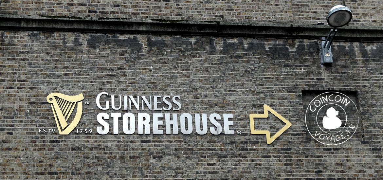 guinness storehouse dublin entrée