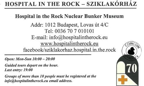 Musée de l'hopiel souterrain : Hospital Rock Budapest
