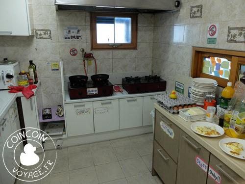 hostel-lyndon-jéju-corée-cuisine