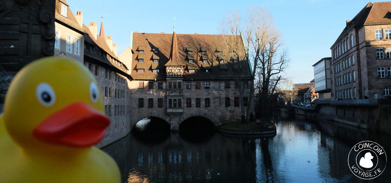 journée à nuremberg en Allemagne