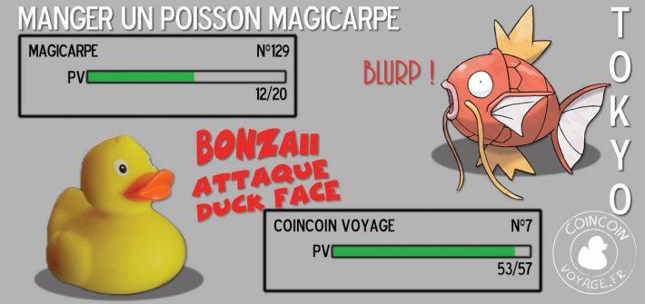 magicarpe gateau pokemon japon tokyo