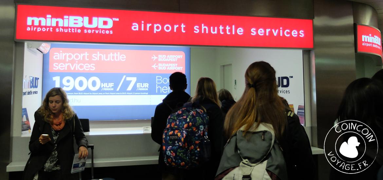 minibud transfert aéroport budapest