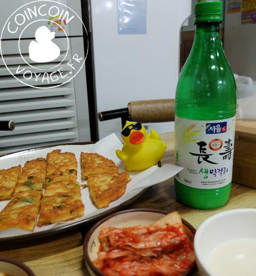 pancake-street-food-corée-sud-séoul