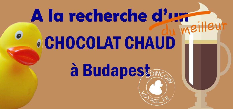 recherche meilleur chocolat chaud budapest