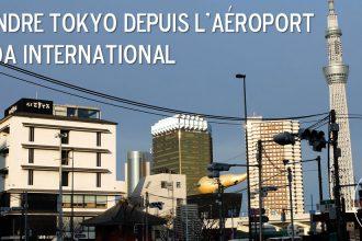 Tokyo depuis l'aéroport Haneda