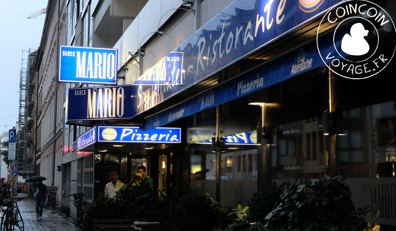 restaurant italien bei mario munich