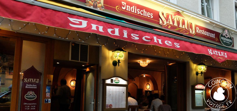 satluj restaurant indien munich