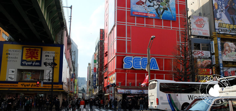 sega jeux arcade akihabara tokyo