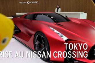 surprise nissan crossing tokyo