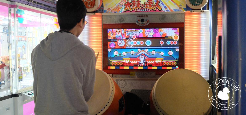 taiko arcade quartier akihabara tokyo