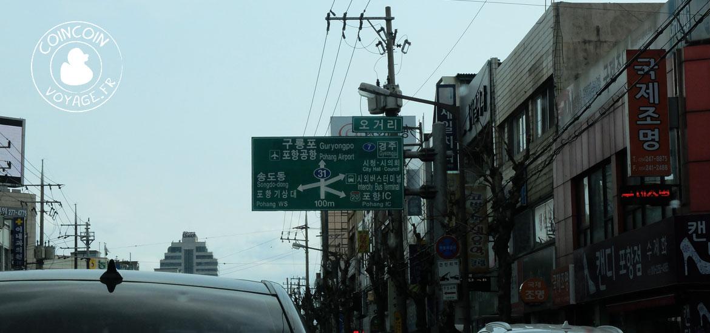 traffic corée sud voiture location