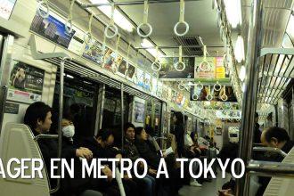 voyager métro à tokyo